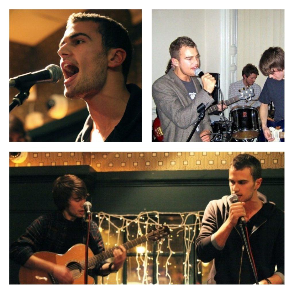 Theo James поет в рок-группе