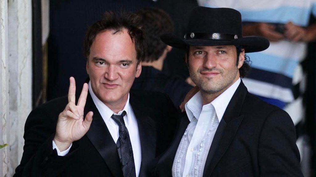 Кинорежиссер Роберт Родригес и Квентин Тарантино.
