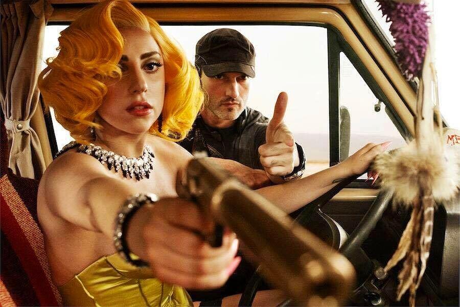 Кинорежиссер Роберт Родригес и Леди Гага.