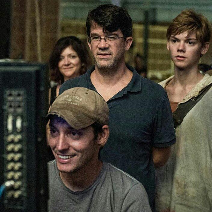 Уэс Болл снимает фильм Бегущий в лабиринте.
