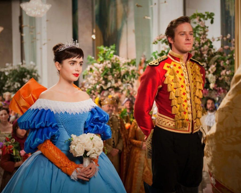 Киноактер Арми Хаммер в роли принца.