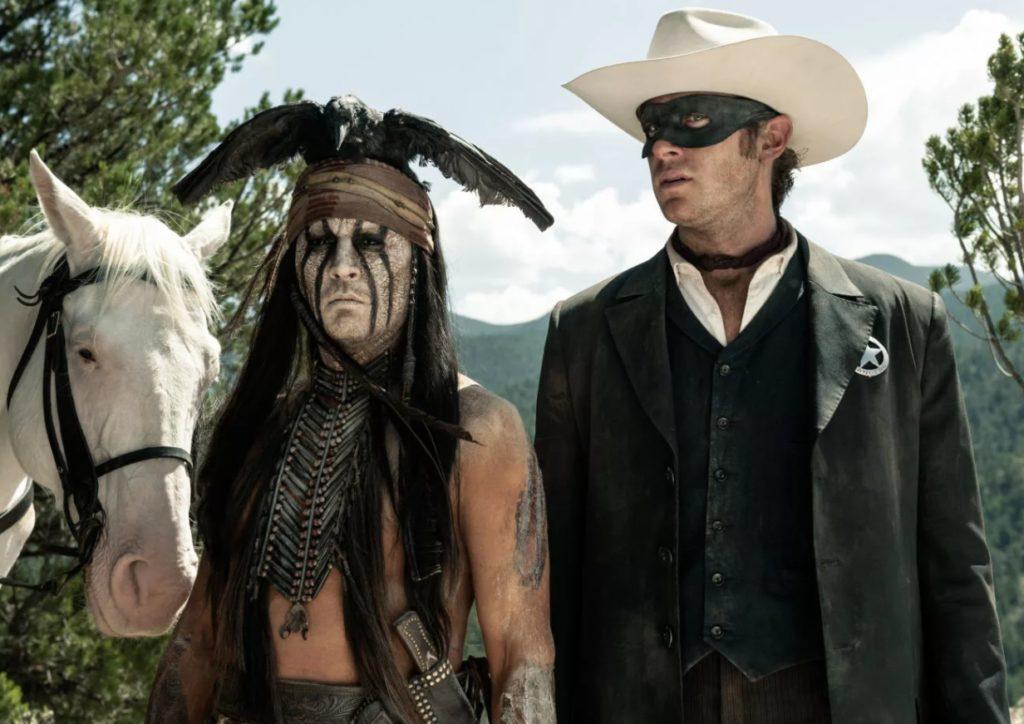 Киноактер Арми Хаммер вместе с Джонни Деппом.