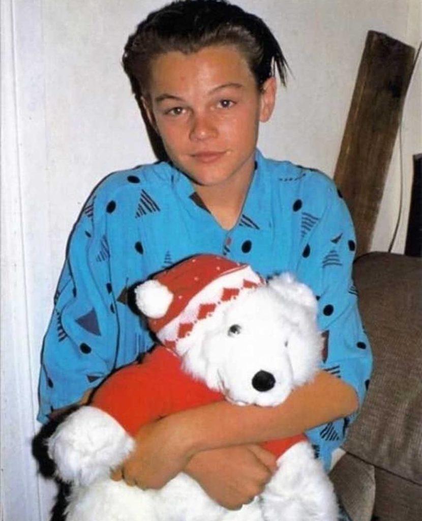 актер Леонардо Ди Каприо (Leonardo DiCaprio) в детстве.