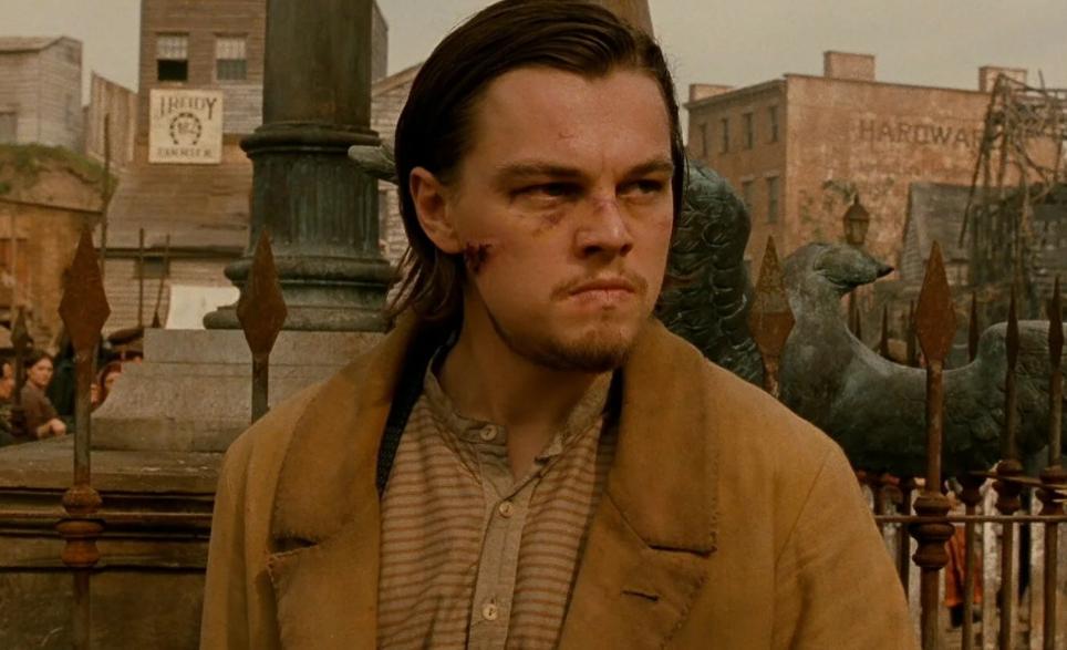 актер Леонардо Ди Каприо (Leonardo DiCaprio) в фильме Банды Нью-Йока.