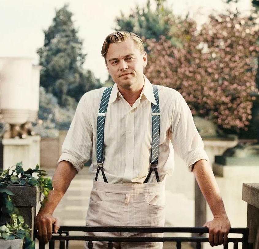 актер Леонардо Ди Каприо (Leonardo DiCaprio) в роли Великого Гэтсби.