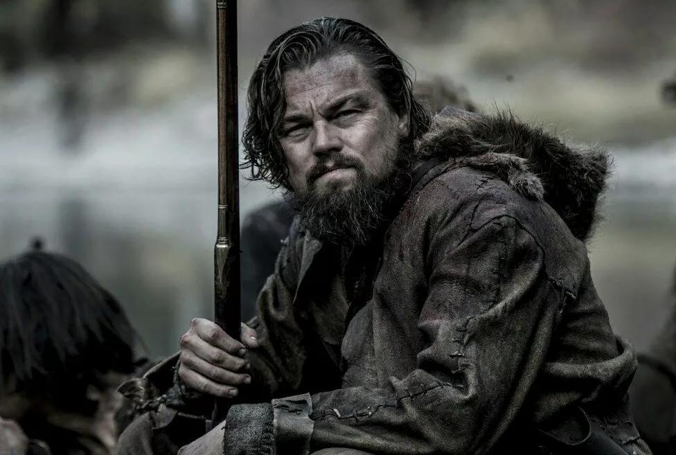 актер Леонардо Ди Каприо (Leonardo DiCaprio) в фильме Выживший.