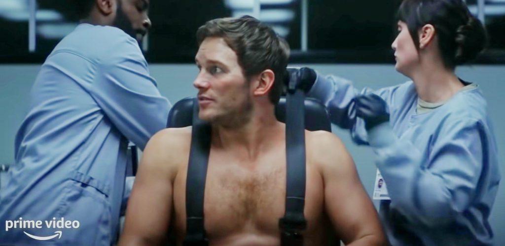 Актер Крис Прэтт (Chris Pratt) в фильме Война Будущего.