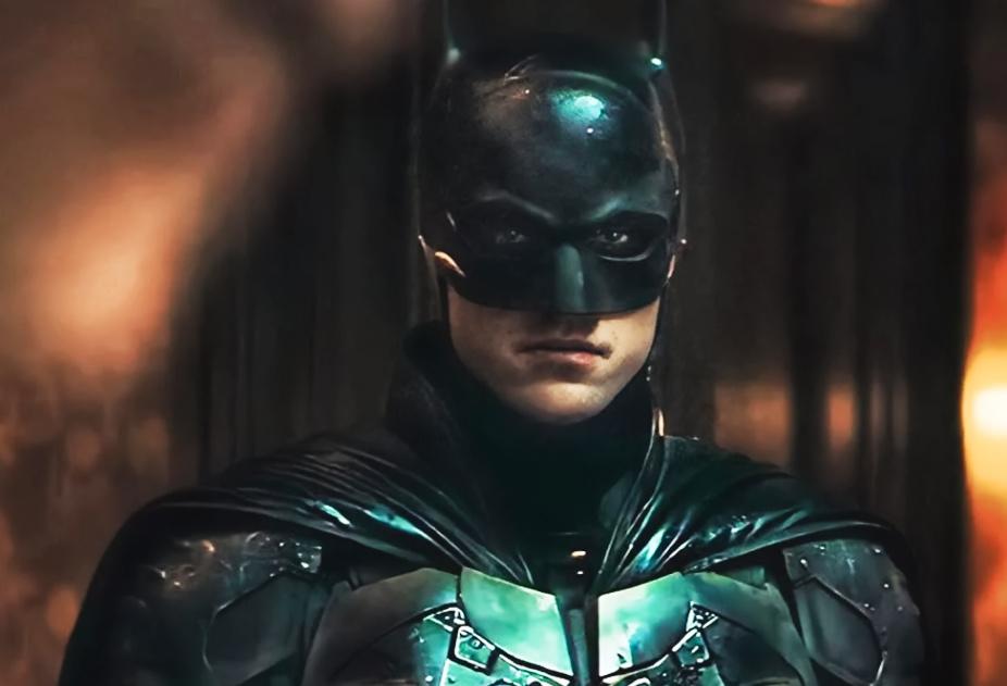 Роберт Паттинсон в роли Бэтмена.