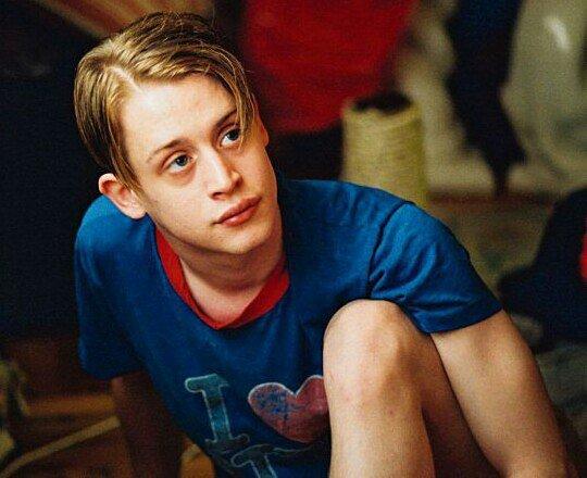 Актер Маколей Калкин в молодости.